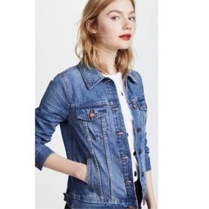 Madewell Denim Jacket Color: Pinter Wash